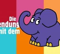 Vertonung für die Sendung mit dem Elefanten