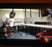 Eishockey im Herbst