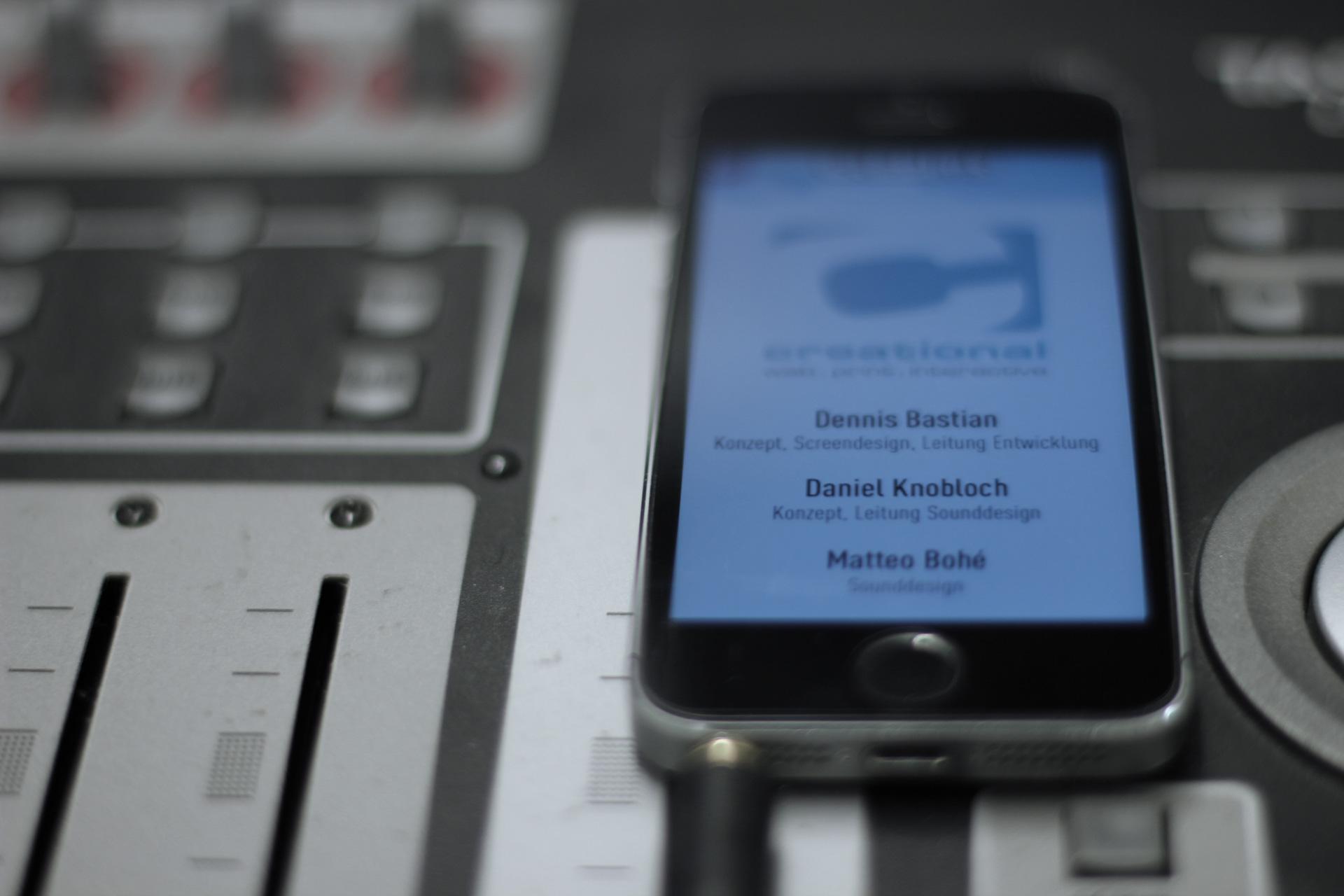 Sounddesign für Smartphone-Apps Köln