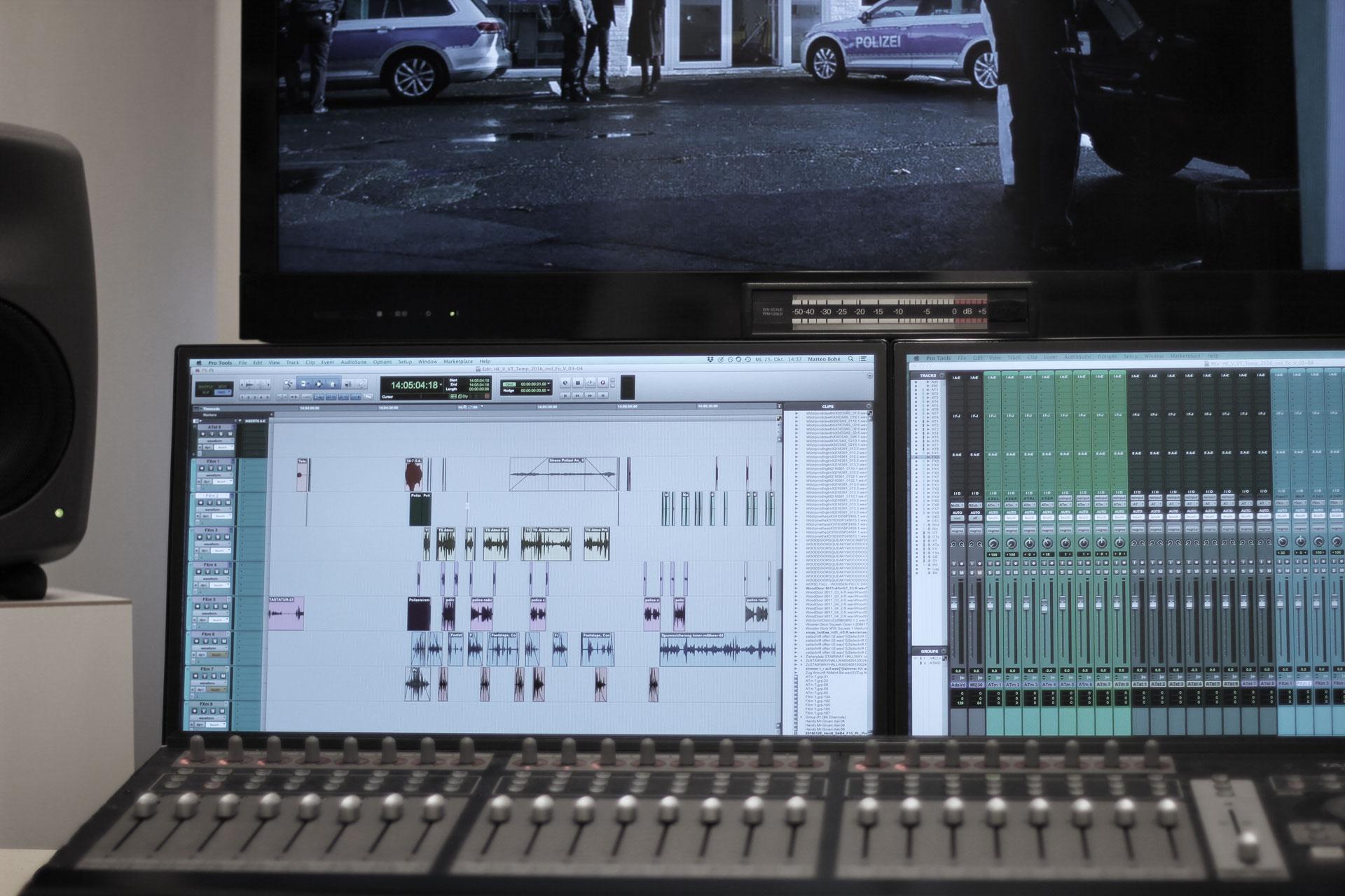 Filmvertonung / Sounddesign Köln